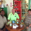 Tony Thompson, John Calvo, and Eddie Calic