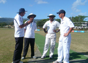 Coin toss: PNG and Samoa