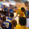 Burns, Solomons Coach giving his players the winning strategy
