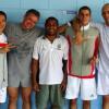 Quater Finalists Fabian, Etienne, Andrew, Gael & Robert