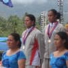 Bina Ramesh (Silver) and Vaikula Elise Takosi (Gold)