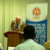 Greg Urwin Opens OSEP Fiji Forum