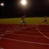 100m. Heat victory,