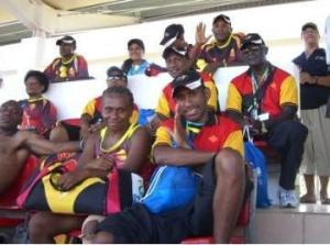 Officials & Players of PNG Muruks