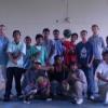SDA High School Students with visiting Basketball Coach Ryan Burns