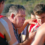 Sawtell coach, Russ Matthews will be urging his charges for a strong effort this weekend