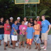 Kaday Village Basketball Club at training with Coach Ryan Burns