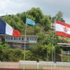 FITA Flag in Tahiti