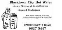 Blacktown City Hot Water