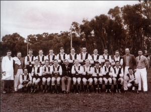 Rythdale-Cardinia FC Premiership Team 1955