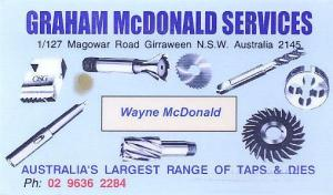 Graham McDonald Engineering Services