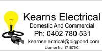 Kearns Electrical Logo