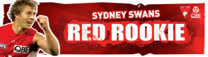 Swans Red Rookie
