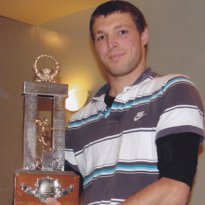 Blair Sims - Player of the Year 2009/10