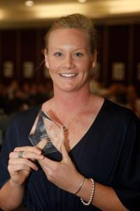 Rowie Webster_AWPI Female Player of the Year 2012