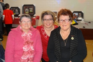 Life members Isabelle Clare & Marie