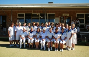 Winning side Inter-Association Fours 2012