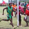 Kupsy Bisamo of Team Morobe, Gold medalist of 5000m, 10000m & Half Marathon