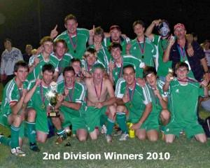 Mens 2nd Division Team
