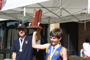 U12s 2012 Premiership Captain and Coach