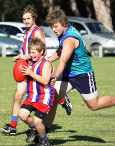 ODFL Football 2013 Lindenow South v Omeo-Benambra Under 16s