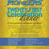 Pioneers 21st Celebration