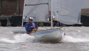 Steve Dunn enjoyed the fresh breezes