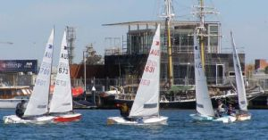 Plenty of challenges upwind in the 2008 OK Short Course Regatta