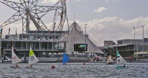 The Special Olympics Selection Regatta was sailed on Victoria Harbour, Docklands