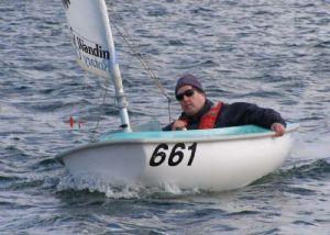 Martin Waller sails his Access 2.3 will full servo control