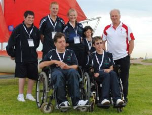 Victoria's Special Olympics Sailing Team in Adelaide