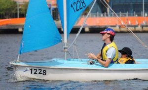 Sarah & Craig Millsom - Docklands Short Course Racing - February 19, 2012