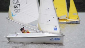 Cadeyrn Gaskin - second in the 2012 Victorian Access Liberty Championships