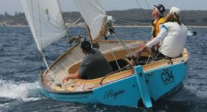 Classic Couta Boats will be aat the Wooden Boat Festival