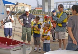 Summer Fun - Learning how the boat works