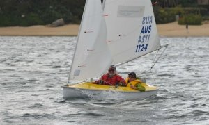 Bruce James & Mark Thorpe (LVYC) were 3rd in the Access 303 two person World Championships