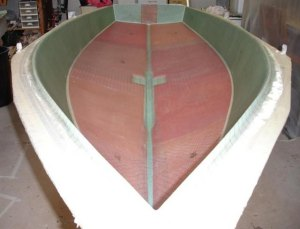Icebreaker hull straight out of mold