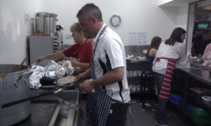 Foreshore Dinner - The cooks
