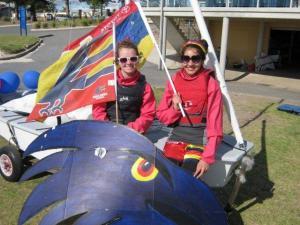 2012 Open Day, Jalina+Katie