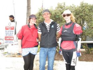 Qld Youth Week 2010-Lilly Pritchard & Shane Smith (Southport Coach) & Kody Sherring