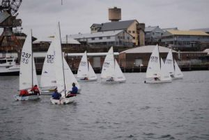 UHI Regatta F11s at Race 1&2 DSC