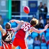 A large crowd is expected to attend the 2014 AFL North Coast grand final between Coffs Swans and Sawtell/Toormina. Photo: Rob Wright / Coffs Coast Advocate