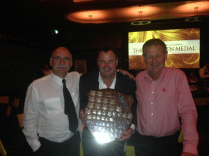 Bruce, Sully and Doug with Club Champions Shield