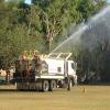 Kawana Park Eagles gets a drink.