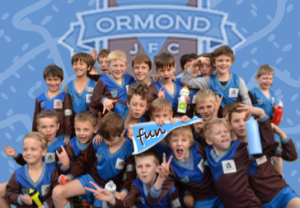 Fun at Ormond JFC