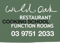 Wild Oak restaurant cooking school function rooms