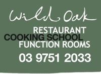 Wild Oak restaurant cooking school function rooms