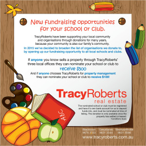 Tracey Roberts Fundraiser