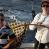 Lynda Brayton 'gone troppo' at the helm of Samskara with owner David Stoopman