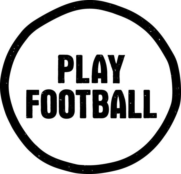 FFA Play Football logo BW